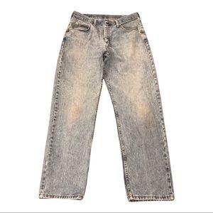 Vintage Wrangler light wash jeans, 34 waist